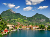 The city of Riva del Garda — Stock Photo