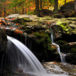 Royalty-Free Stock Photo: Waterfall in the autumn forest