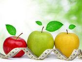 Collezione di apple — Foto Stock
