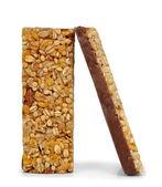 Barras de cereais de chocolate — Foto Stock
