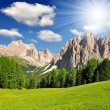 Italy Alps - Stock Photo