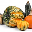 Harvested pumpkins — Stock Photo #14400387