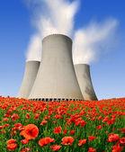 Usina nuclear — Fotografia Stock
