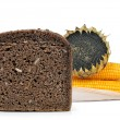 Stock Photo: Whole wheat bread