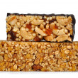 Chocolate Muesli Bars - Stock Photo