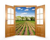 Abre la puerta — Foto de Stock