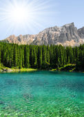 Lac carezza — Photo