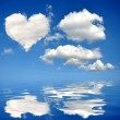 Heart from clouds — Stock Photo #18170699