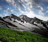 švýcarské alpy — Stock fotografie
