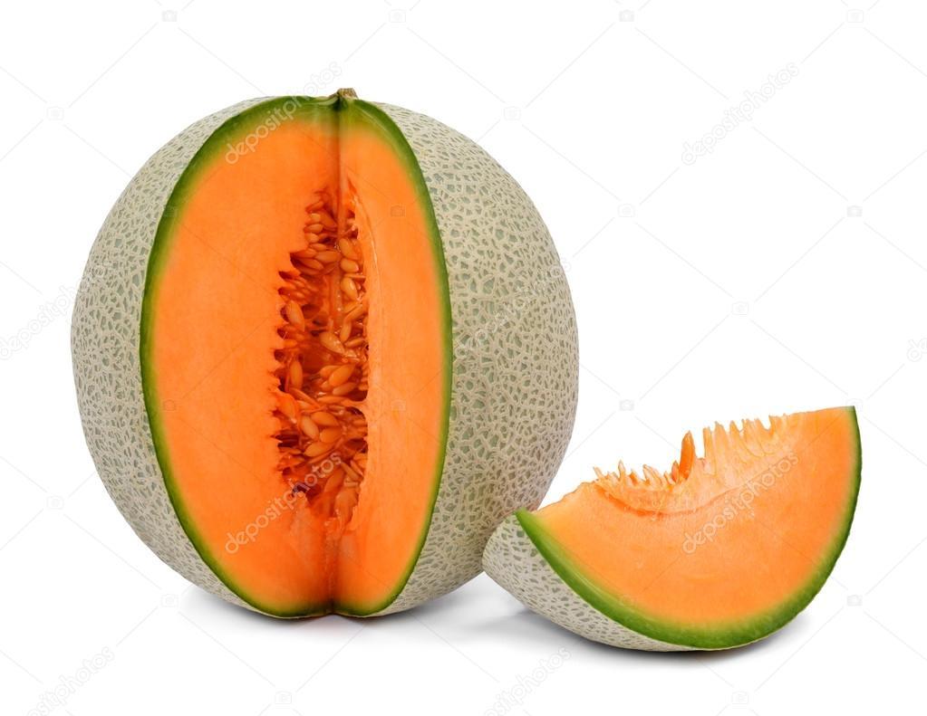 orange cantaloupe melone stockfoto vencav 18170575. Black Bedroom Furniture Sets. Home Design Ideas