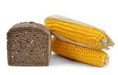 Pão integral com milho — Fotografia Stock