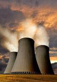 Pianta di energia nucleare — Foto Stock