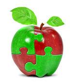 Collage de apple — Foto de Stock