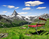 Views of the Matterhorn — 图库照片