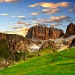 Dolomite peaks,Sella — Stock Photo #21319005