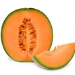 Orange cantaloupe melon — Stock Photo #21954411