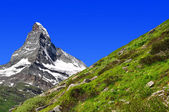 Matterhorn in Swiss alps — Stock Photo
