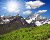 Swiss alps — Zdjęcie stockowe