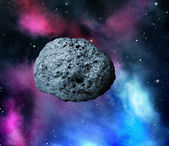 Large asteroid — Stock Photo
