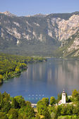 Lake Bohinj — Stock Photo