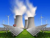 концепции энергетики — Стоковое фото