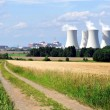 Stock Photo: Nuclear power plant Temelin