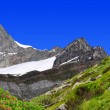 beautiful mountain zinalrothorn — Stock Photo