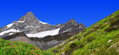 Beautiful mountain Zinalrothorn — Stock Photo