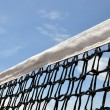 Tennis court net - Stock Photo
