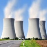 Постер, плакат: Nuclear power plant