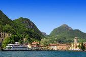 The city of Riva del Garda — Stock Photo