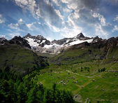Swiss alps — Stock Photo