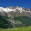 View of Saas Fee — Stock Photo