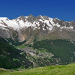 View of Saas Fee — Stock Photo #26289951