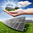 Solar panels — Stock Photo #26621573