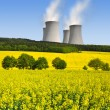 Stock Photo: Nuclear power plant