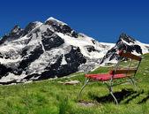 Breithorn ve klein matterhorn — Stok fotoğraf