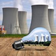 nuclear power plant — Stock Photo #26883445