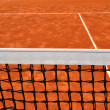 Close up detail of a tennis net — Stock Photo #27763709