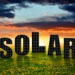 Solar energy panels — Stockfoto #29691369