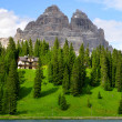 Lake Misurina - Dolomites, Italy — Stock Photo