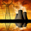 Nuclear power plant — Stock Photo #29813345