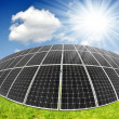 Solar energy panels — Foto de stock #30476285