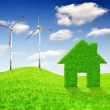 Green energy concepts — Stock Photo