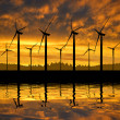 Wind turbines — Stock Photo