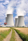 Elektrownia jądrowa Temelín — Zdjęcie stockowe