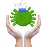 Green energy concepts — Stock Photo