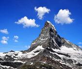 Matterhorn - Swiss alps — Stock Photo