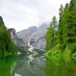 Stock Photo: Lago di Braies