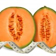 Cantaloupe melon — Stock Photo #35389693